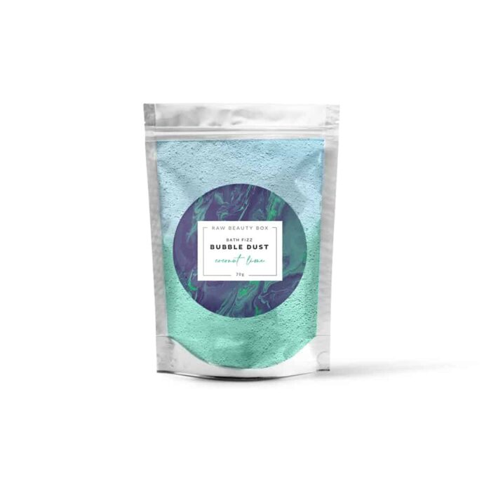 Coconut Lime | Bath Fizz Bubble Dust Sachet – 70g