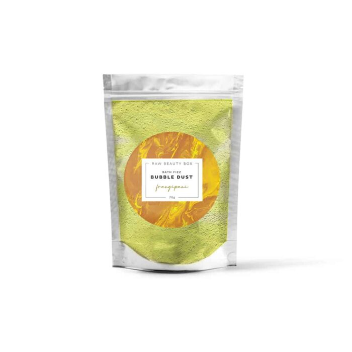 Frangipani | Bath Fizz Bubble Dust Sachet - 70g