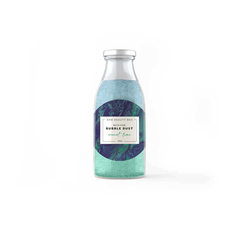Coconut + Lime Bubble Dust Milk Bottle