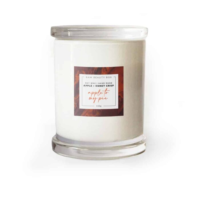 Apple + Honey Crisp - Soy Wax Hand Made Candle - 150g